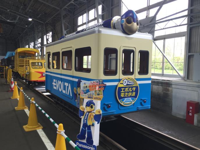 小坂鉄道レールパーク エボルタ電車