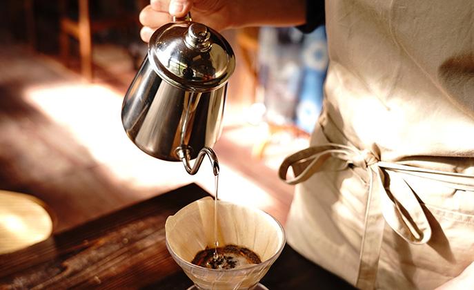 〈鹿角市〉Kotoriusagi coffeeのコーヒーとスイーツでゆったりと