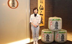男性に負けない気力と体力で、女性初の山内杜氏試験に合格した蔵人
