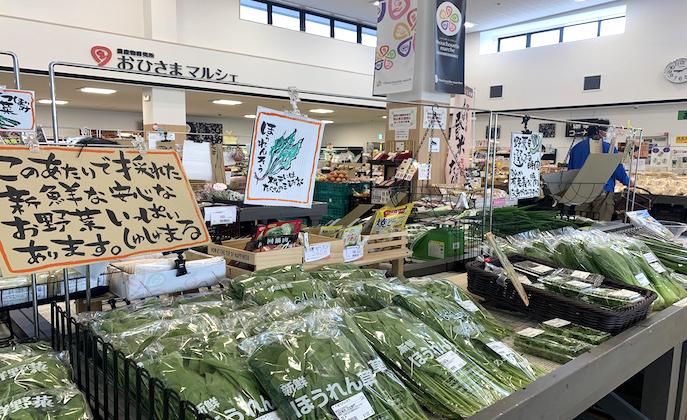 〈大仙市〉見て楽しむ!農産物直売所「しゅしゅえっとまるしぇ」