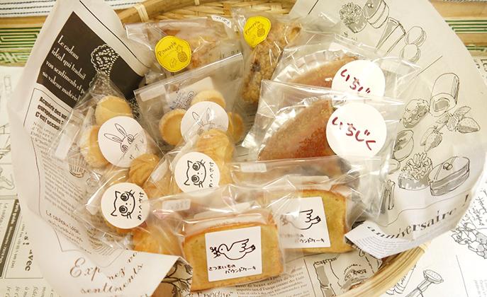 〈秋田市〉コーヒータイムを楽しくしてくれる「め・へさけ」の焼き菓子、ケーキ